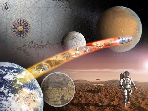 """Tập bay lên sao Hoả - Kỳ 1: Hóc búa bài toán """"con người"""""""