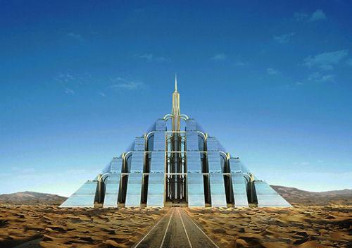 Thành phố trên kim tự tháp