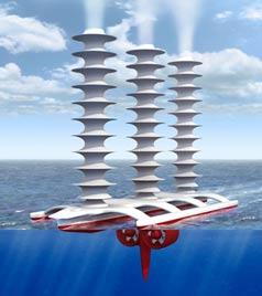 1.500 tàu robot để ngăn Trái đất ấm lên
