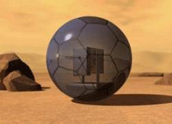Bóng robot thám hiểm sao Hỏa