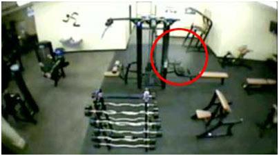 Bí ẩn về bóng ma trong phòng tập thể dục