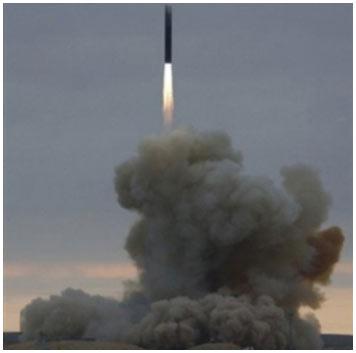 Nga bắn thử tên lửa xuyên lục địa