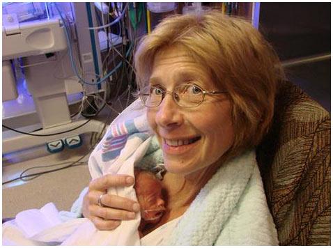 Bà sinh ra 3 cháu