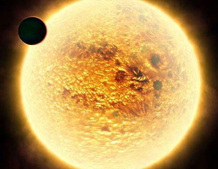 Tìm thấy hành tinh nóng như mặt trời