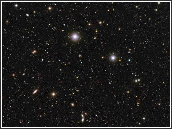 Hình ảnh vũ trụ sâu nhất