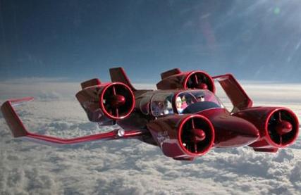 Ôtô có thể bay như phi cơ