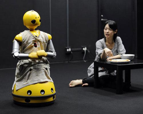 Lần đầu tiên có robot làm diễn viên
