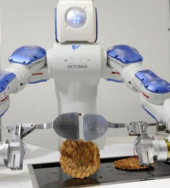 Robot biết nấu ăn