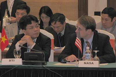 Việt Nam làm chủ nhà diễn đàn vũ trụ châu Á