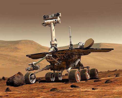 5 năm ở sao Hỏa