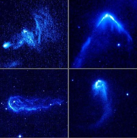 Các 'hỏa tiễn khổng lồ' lang thang trong vũ trụ
