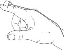 Phát minh giúp người mù nhìn bằng ngón tay