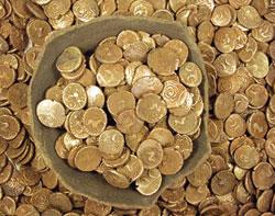 Phát hiện kho tiền vàng lớn nhất tại Anh