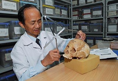 Nhà 'xương học' Nguyễn Lân Cường