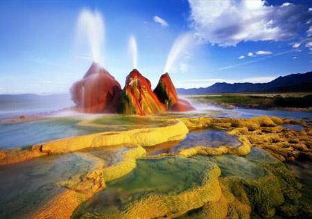 Cảnh đẹp trong sa mạc