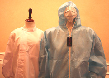 Trang phục kháng khuẩn và virus cúm gia cầm