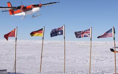 Đi tìm dãy núi bí ẩn tại Nam Cực