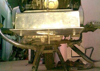 Thiết bị chống cán đinh cho xe máy