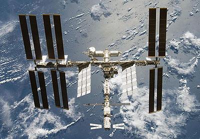 Trạm không gian quốc tế 'sải cánh'