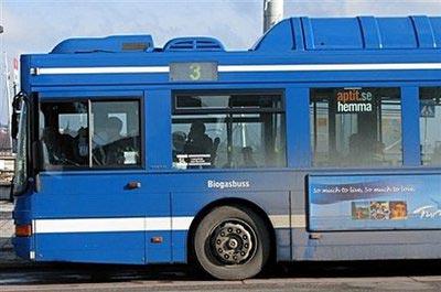 Xe buýt chạy bằng rác thải