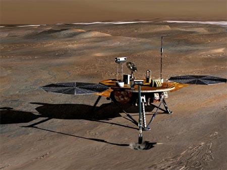 'Sao Hỏa có thể tồn tại các hồ nước mặn'