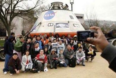 Tàu vũ trụ mới của Mỹ giống đĩa bay