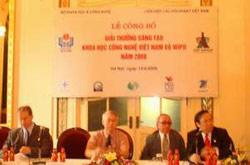 35 công trình xuất sắc đoạt giải Sáng tạo KHCN Việt Nam 2008