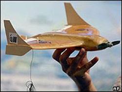 Máy bay 'gián điệp'... bỏ túi