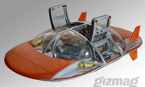 Lái tàu ngầm như... đạp vịt