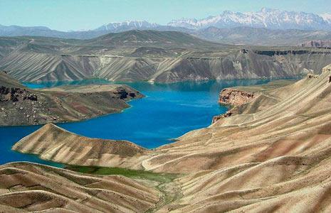 Vẻ đẹp hoang sơ hồ trên núi tại Afghanistan