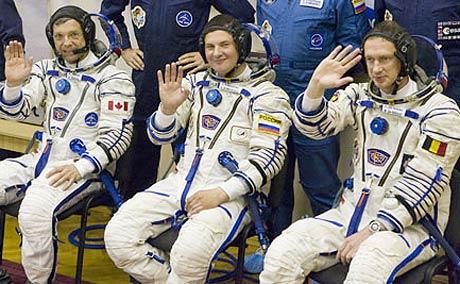 Nga tăng dân số cho trạm không gian