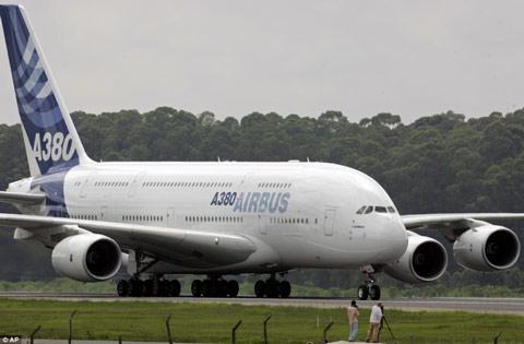 'Lâu đài bay' A 380 trị giá nửa tỷ USD