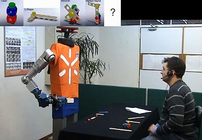 Robot đọc được ý nghĩ của con người