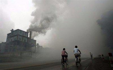 Tăng trưởng châu Á thúc đẩy biến đổi khí hậu