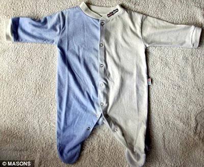 Áo thông minh đổi màu theo nhiệt độ trẻ sơ sinh