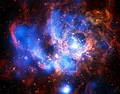 Khu vực khổng lồ sinh sôi những vì sao mới