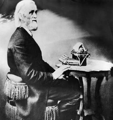 141 năm, chiếc máy chữ đầu tiên của loài người