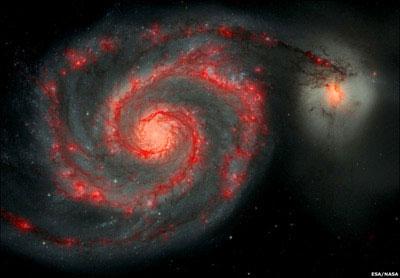 Hình ảnh tuyệt đẹp của thiên hà Whirlpool