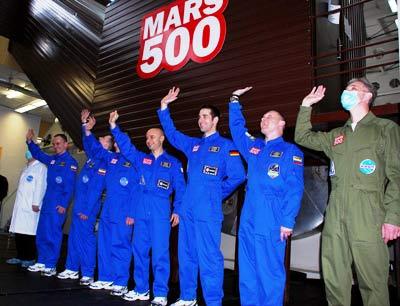 """Kết thúc """"chuyến bay lên sao Hỏa"""""""
