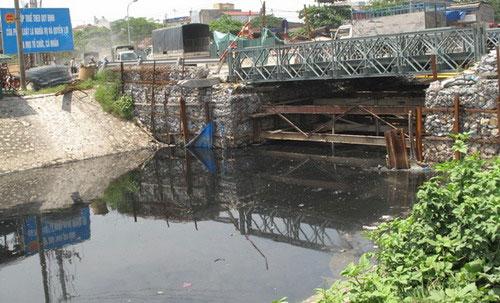 Hà Nội: 1.329 tỉ đồng giải cứu môi trường