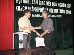 Hà Nội chuyển kết quả nghiên cứu cho sản xuất kinh doanh