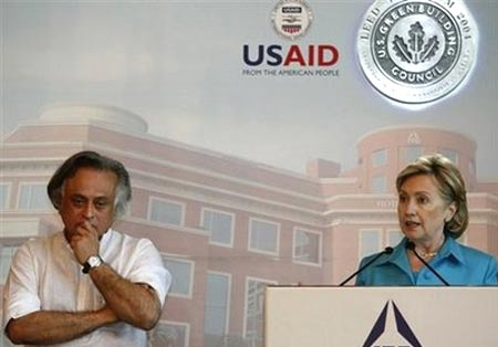 Mỹ muốn Ấn Độ cùng giải quyết thay đổi khí hậu