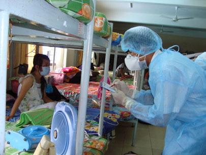 Sẵn sàng phòng chống cúm A/H1N1 giai đoạn 3