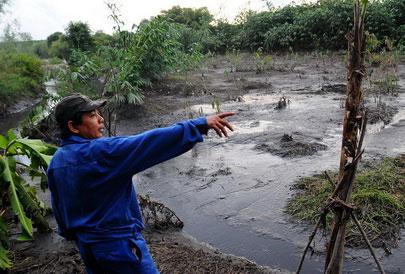 Nước ô nhiễm có thể uy hiếp sông Sài Gòn