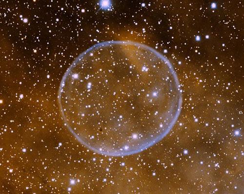 Bong bóng khổng lồ trong vũ trụ