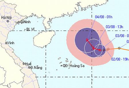Áp thấp nhiệt đới sẽ mạnh lên thành bão