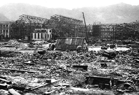 Vết tích tàn khốc của bom nguyên tử