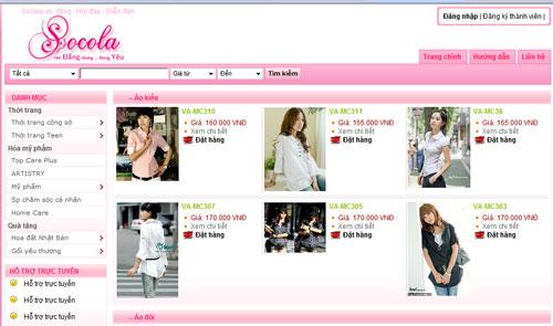 SOCOLA.vn – Kênh truyền thông kết hợp mua sắm dành cho Phụ nữ
