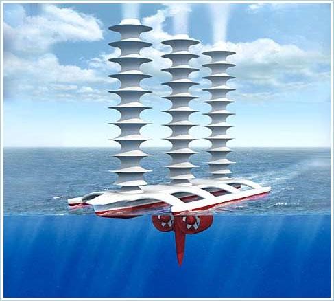 Thuyền tạo mây - Giải pháp cho sự nóng lên toàn cầu