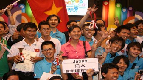 Động lực cho tương lai robocon Việt